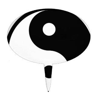 yin yang Basic Line Cake Topper