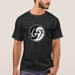 yin-yang bass T-Shirt