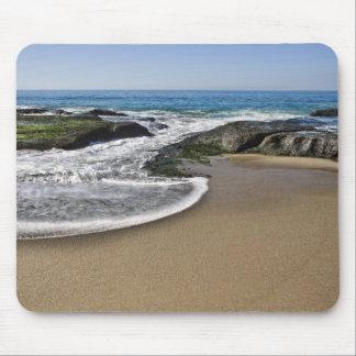 Yin Yang Beach Mouse Pad