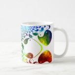 Yin Yang Beverage Fractal Mugs