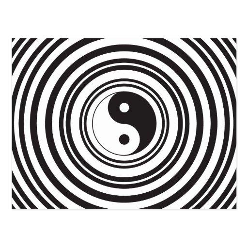how to make ying yang vday card
