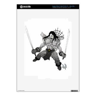 Yin Yang Boogieman iPad 3 Skin