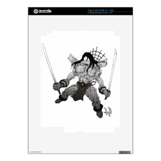 Yin Yang Boogieman Skins For iPad 2