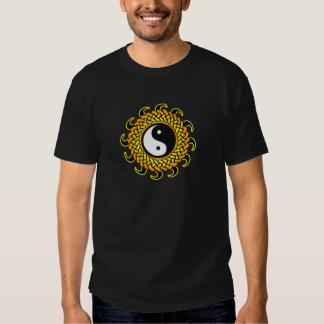 Yin Yang Braided Sun T Shirt