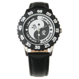 Yin Yang Brotherly Love Watch -model without ticks