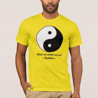 yin yang Buddha T-Shirt