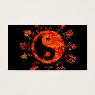 Yin yang. business card