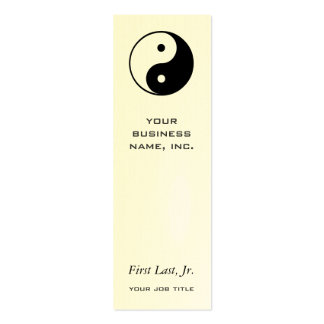 Yin Yang Double-Sided Mini Business Cards (Pack Of 20)
