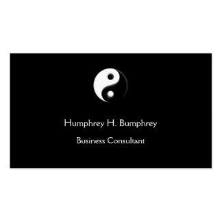 Yin Yang Business card Template