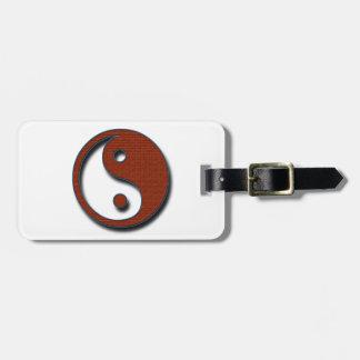 Yin Yang by Shirley Taylor Bag Tag