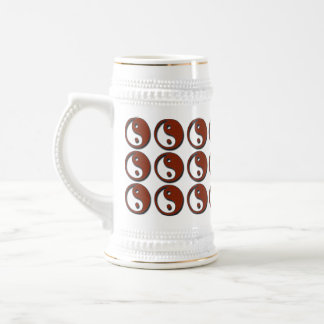 Yin Yang by Shirley Taylor Beer Stein