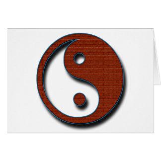 Yin Yang by Shirley Taylor Card