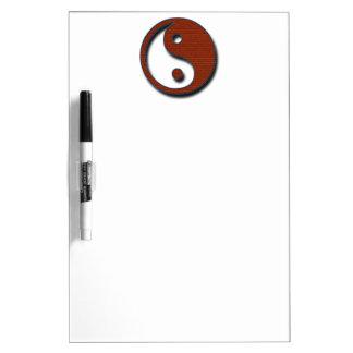 Yin Yang by Shirley Taylor Dry-Erase Board
