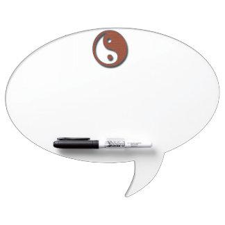 Yin Yang by Shirley Taylor Dry Erase Board