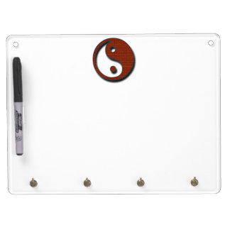 Yin Yang by Shirley Taylor Dry Erase Board With Keychain Holder
