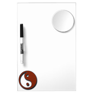 Yin Yang by Shirley Taylor Dry Erase Board With Mirror