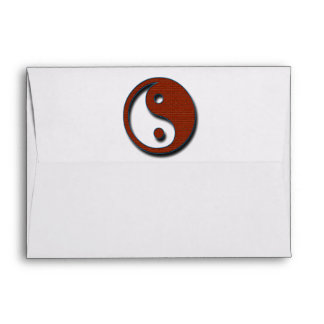Yin Yang by Shirley Taylor Envelope