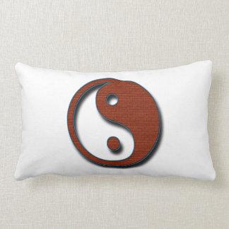 Yin Yang by Shirley Taylor Lumbar Pillow