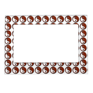 Yin Yang by Shirley Taylor Magnetic Photo Frame