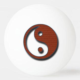 Yin Yang by Shirley Taylor Ping Pong Ball