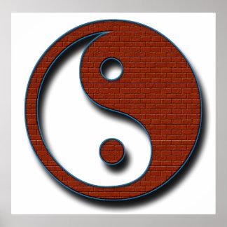 Yin Yang by Shirley Taylor Poster