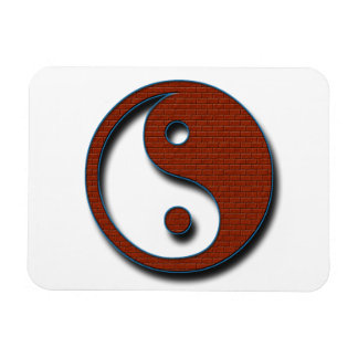 Yin Yang by Shirley Taylor Rectangular Photo Magnet