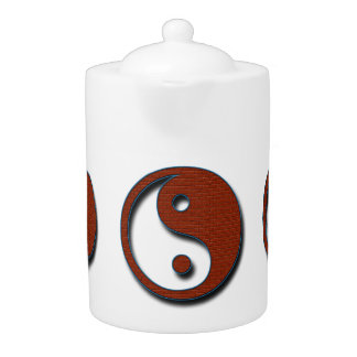 Yin Yang by Shirley Taylor Teapot