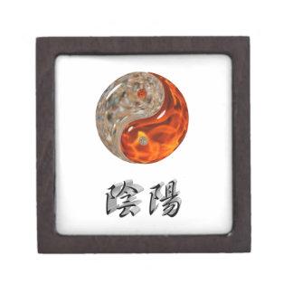 Yin Yang Cajas De Recuerdo De Calidad
