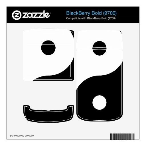Yin Yang Calcomanía Para BlackBerry Bold