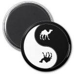 Yin Yang Camel Magnet