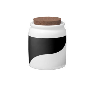 Yin Yang Candy Jars