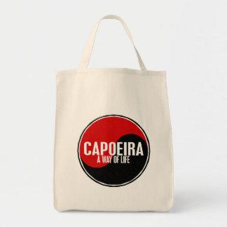 Yin Yang Capoeira 1 Grocery Tote Bag