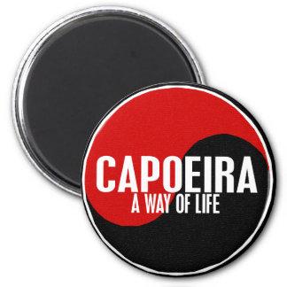 Yin Yang Capoeira 1 Magnet