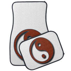 Yin Yang Car Mat