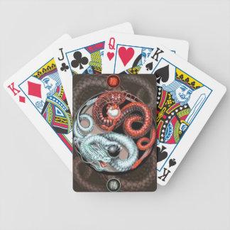 yin yang cards bicycle playing cards