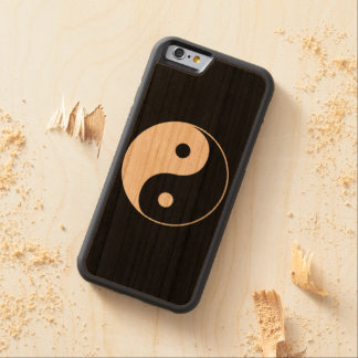Yin Yang Carved Cherry iPhone 6 Bumper Case