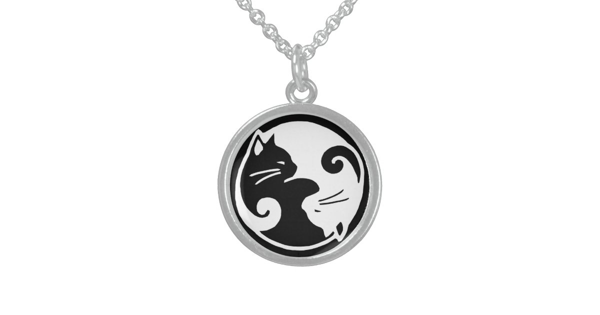cat pendant cartergore badger uk wolf gold lucky necklace image