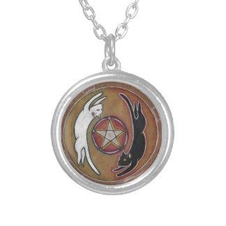 Yin Yang Cat Pentacle Jewelry