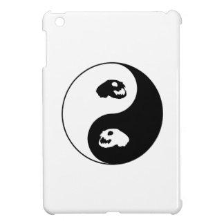Yin Yang Cat Skull Case For The iPad Mini