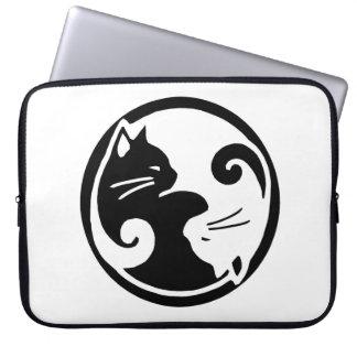 Yin Yang Cats 15 Laptop Sleeve