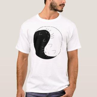 Yin Yang Cats T-Shirt