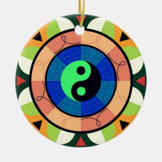 Yin Yang ! Ceramic Ornament