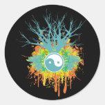 Yin Yang Chaos Sticker