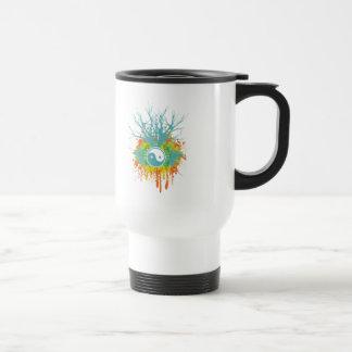 Yin Yang Chaos Travel Mug