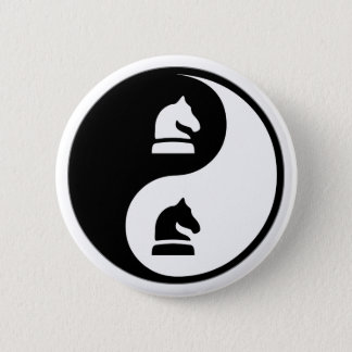 Yin Yang Chess Button