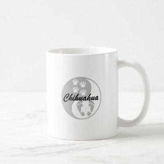 yin yang chihuahua mug