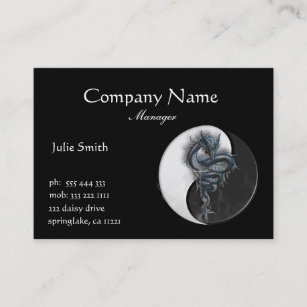 Chinese business cards 2200 chinese business card templates yin yang chinese dragon business card colourmoves