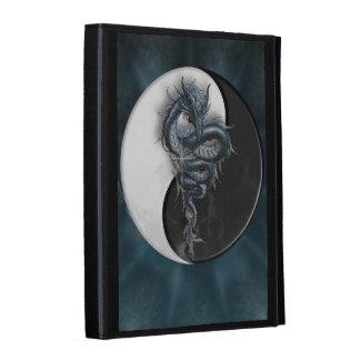Yin Yang Chinese Dragon iPad Folio iPad Folio Case