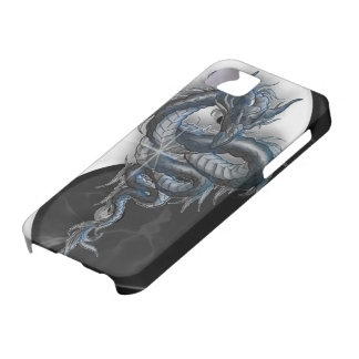 Yin Yang Chinese Dragon iPhone 5 Barely There iPhone SE/5/5s Case