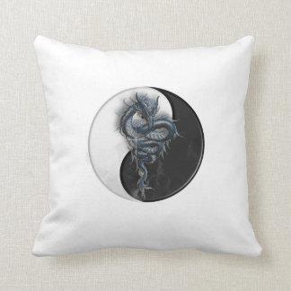 Yin Yang Chinese Dragon MoJo Pillow